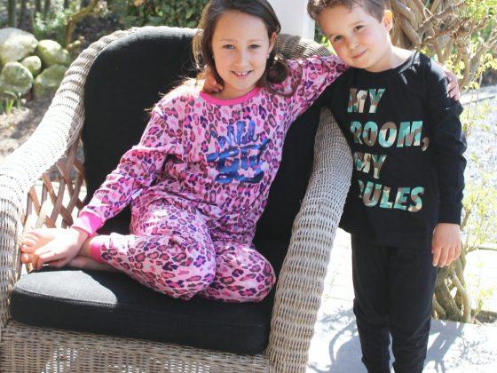 Hippe meisjespyjama's